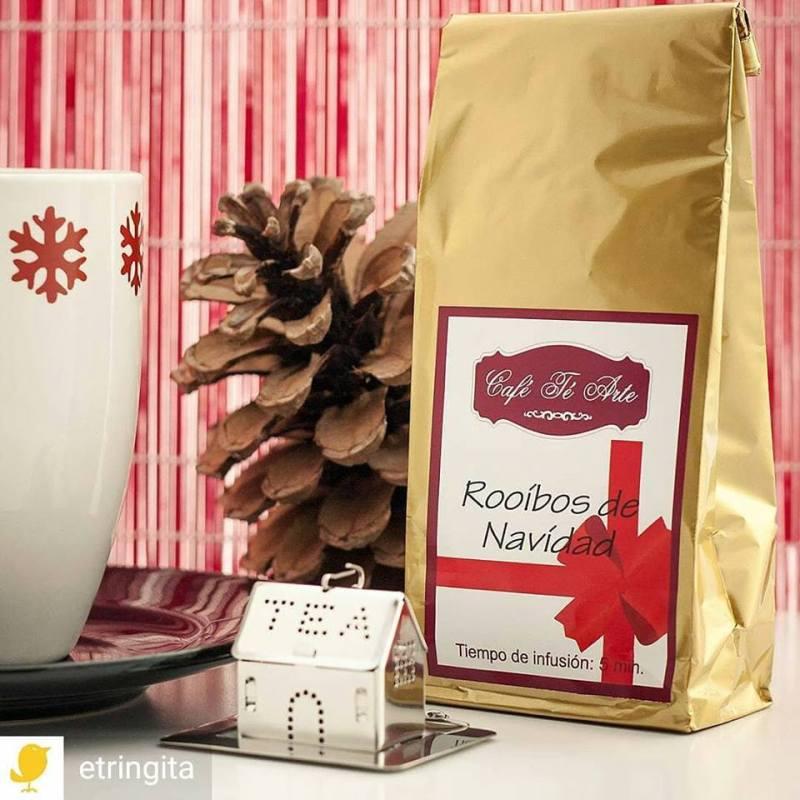 rooibos de navidad en cafe te arte