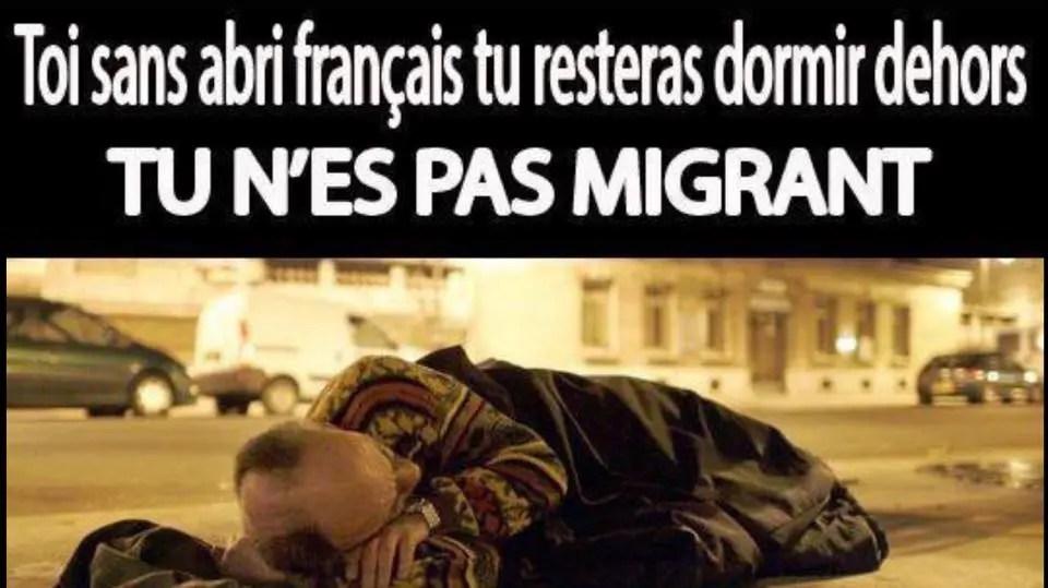 """Résultat de recherche d'images pour """"migrants sdf"""""""