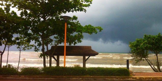Ao Nang con lluvia