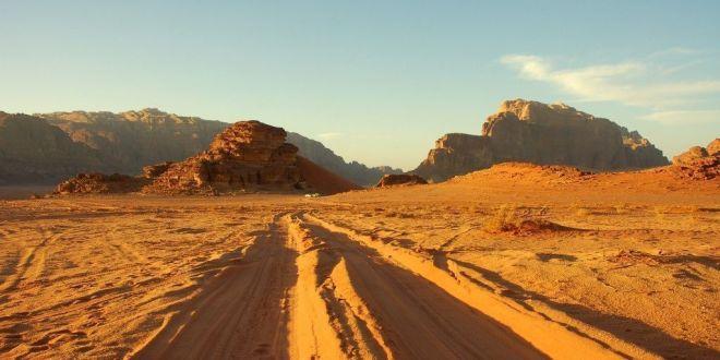 El desierto del Wadi Rum