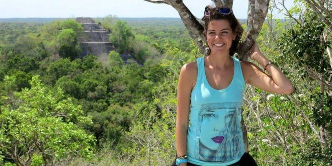 Zona arqueologica en Campeche