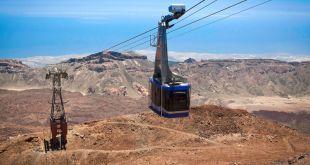 Subida al Teide en teleferico