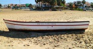 Playa en isla de Sal