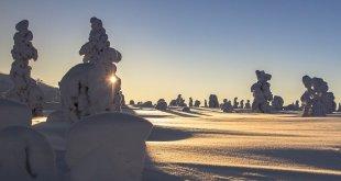 Ähtäri en invierno