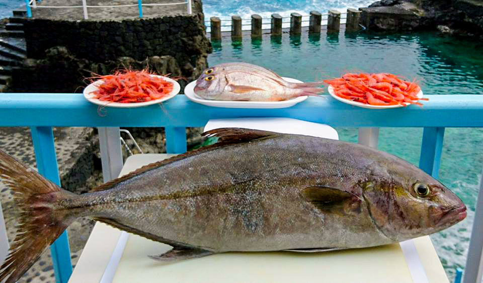 Hoy miércoles, 21 de Diciembre, disfrutaréis cómo no, de buen género local: #medregal, Gambas, Camarón, #pargos y más. Do you fancy some local fish? Come and enjoy in Bar Charco Azul!!