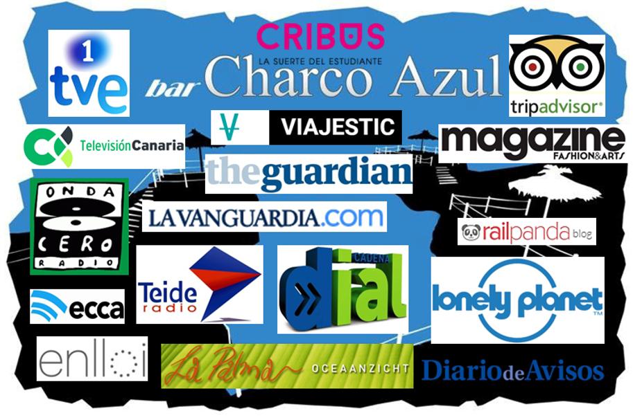 Méritos del Bar Charco Azul · San Andrés y Sauces · La Palma · Islas Canarias