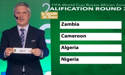 tirage algerie groupe B tirage WC 2018