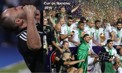 2019 Algérie Bilan Foot
