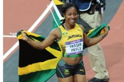 SHELLY-ANN-FRASER-PRYCE-WINS-GOLD-100M-LONDON-20121