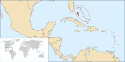 localizacion de bahamas