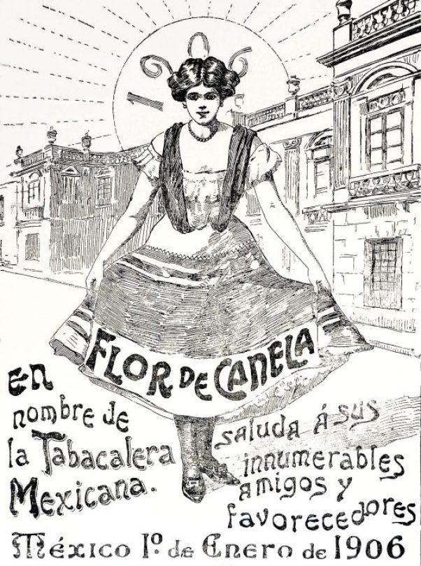07 Flor de Canela, una de las marcas de El Buen Tono. Foto INAH
