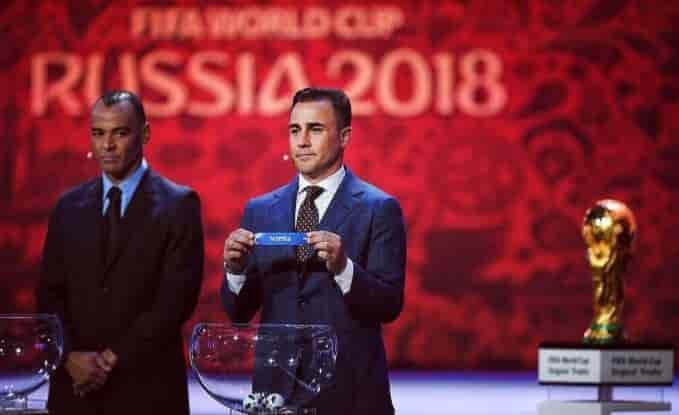 gironi mondiali di calcio 2018
