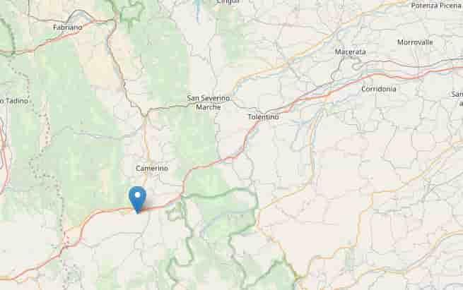 terremoto provincia macerata 10 aprile 2018