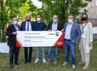 Conad, Regiana e Righi donano 500 biglietti agli operatori sanitari