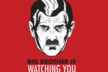Dystopie Big brother 1984