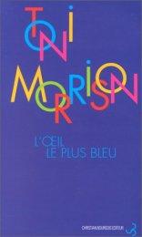 L'oeil le plus bleu de Toni Morrison - Roman Féminisme
