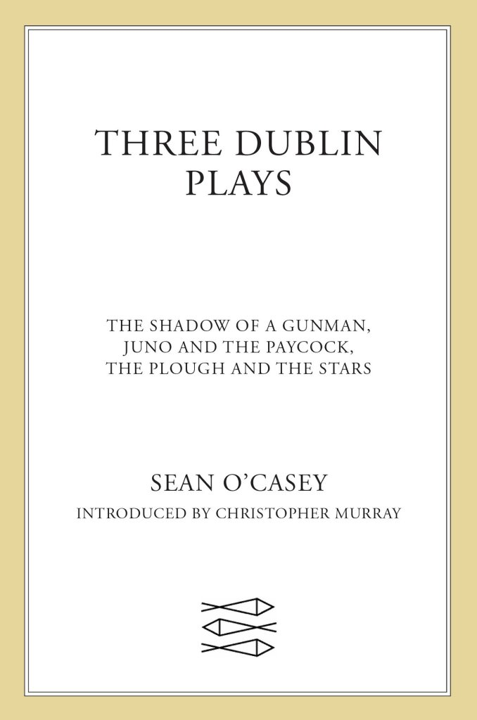 Livre cadeau - Three Dublin plays de Sean O'Casey