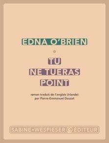 Tu ne tueras point d'Edna O'Brien - feminibooks romans féministes