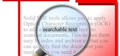 Dokumente einscannen, OCR zur Texterkennung und durchsuchbare PDF-Dateien erstellen