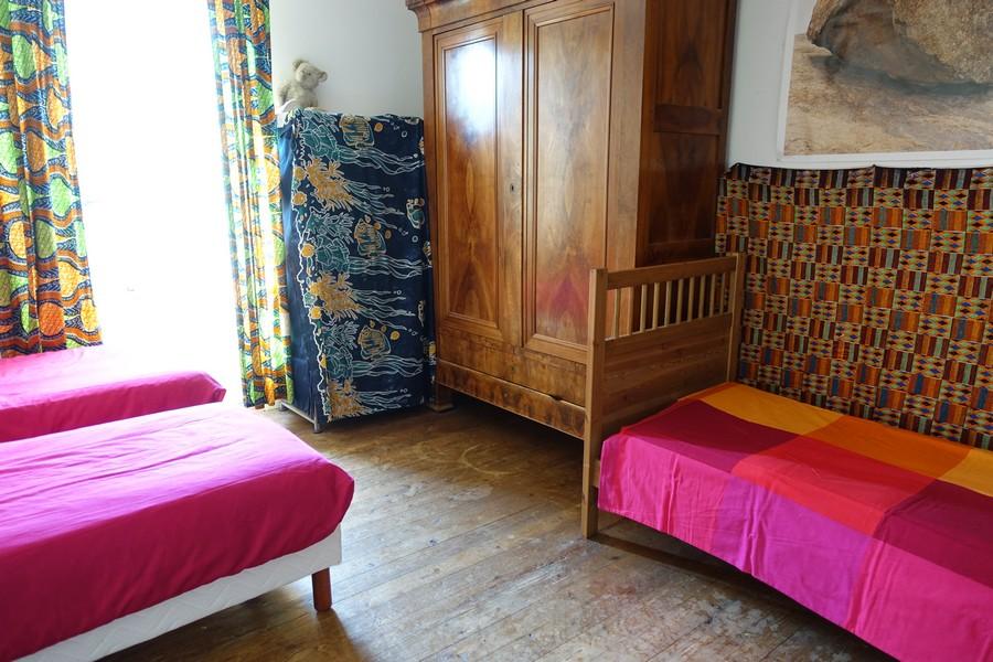 chambres d'hôtes la Gémuloise chambre blanche