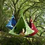 camper dans les arbres