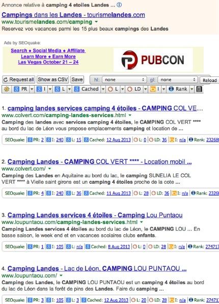 camping 4 etoiles Landes services enfants - Recherche Google