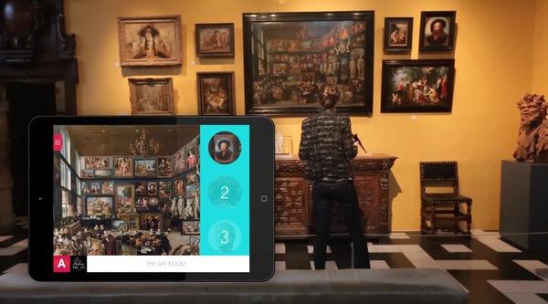 Utilisation du iBeacon dans la maison Rubens en Belgique: l'information au bon moment