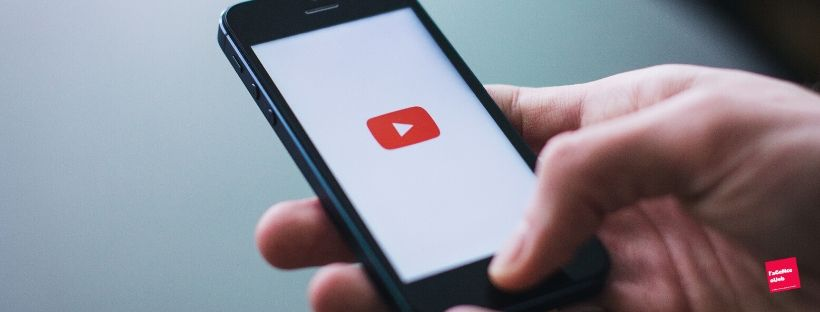 Utilisation de la plateforme de video YouTube sur mobile