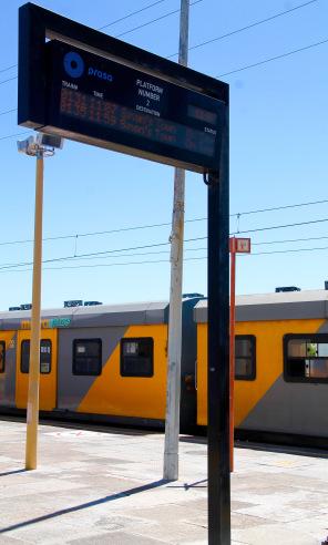 Train à Simons Town