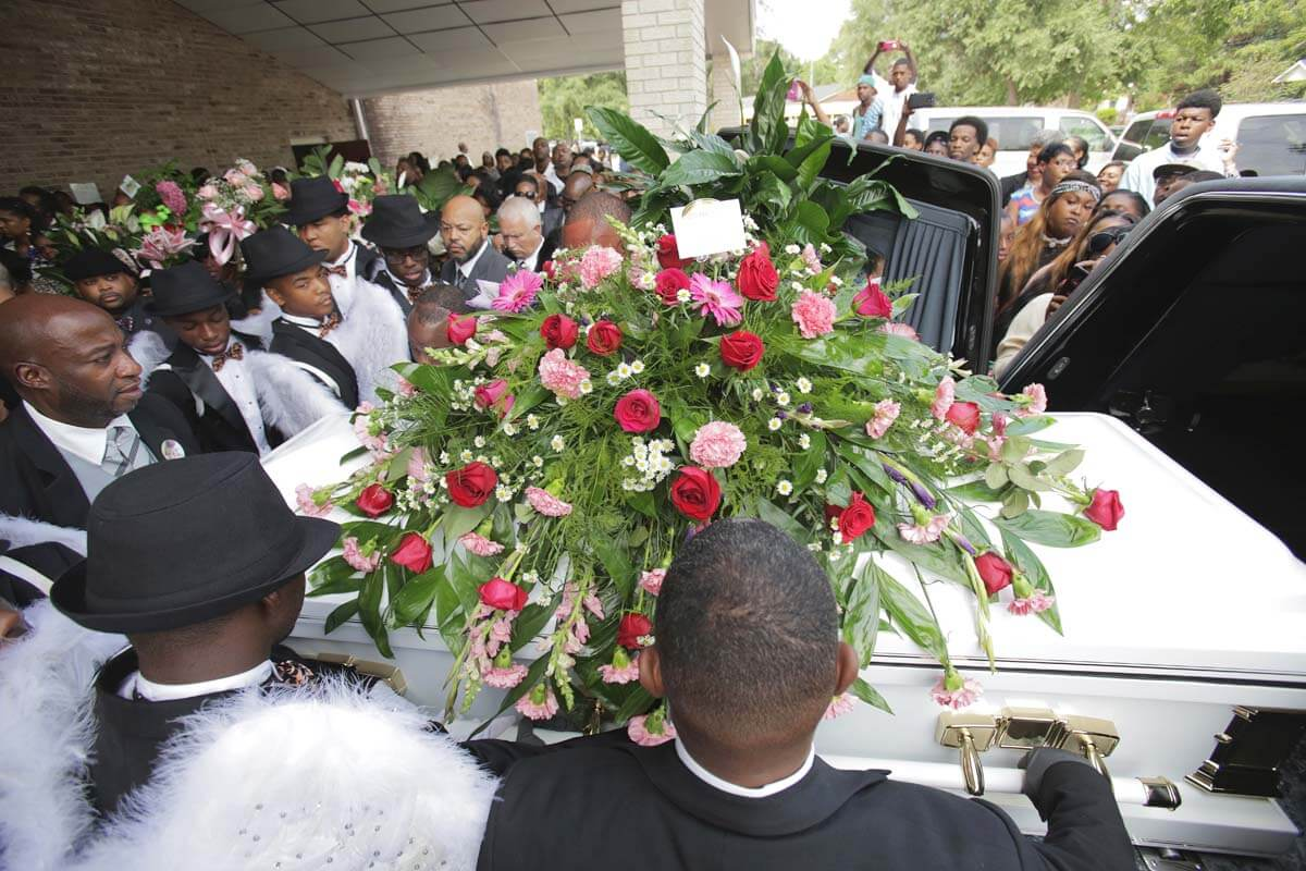 Murdered girls funeral passes with no arrests in case  Lagniappe Mobile