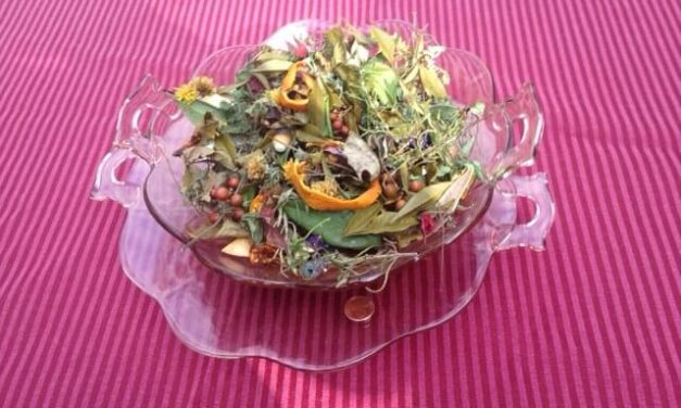 Making potpourri can be easy and fun