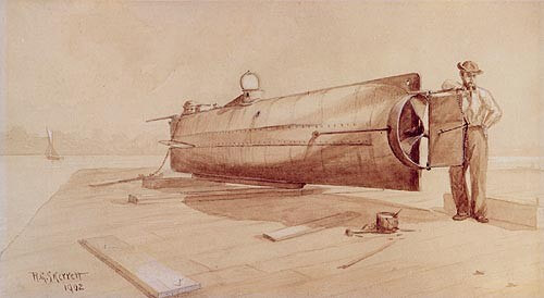 Navy releases new research into Mobile-built Civil War submarine Hunley