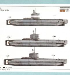 trumpeter 1 144 type xxiii submarine oob the sprue lagoon german type xxiii u boat diagram [ 1974 x 1254 Pixel ]