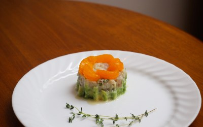 Citrus Tuna Tartare