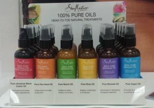 Shea Moisture Hair Oils
