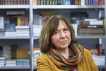 BELARUSIAN WRITER, SVETLANA ALEXIEVICH, WINS NOBEL PRIZE FOR LITERATURE 2015