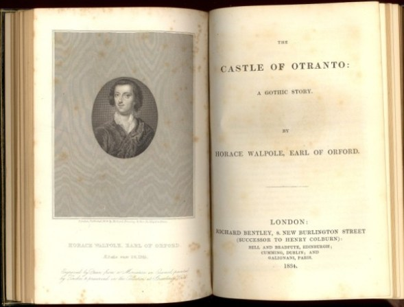 an analysis of horace walpoles novel the castle of otrantoa Readings of william beckford's novel vathek suggest it encodes homoerotic desire and suspect masculinity in its themes and narrative structure when read alongside the life of the author horace walpole's the castle of otranto can be read with the same methodology.
