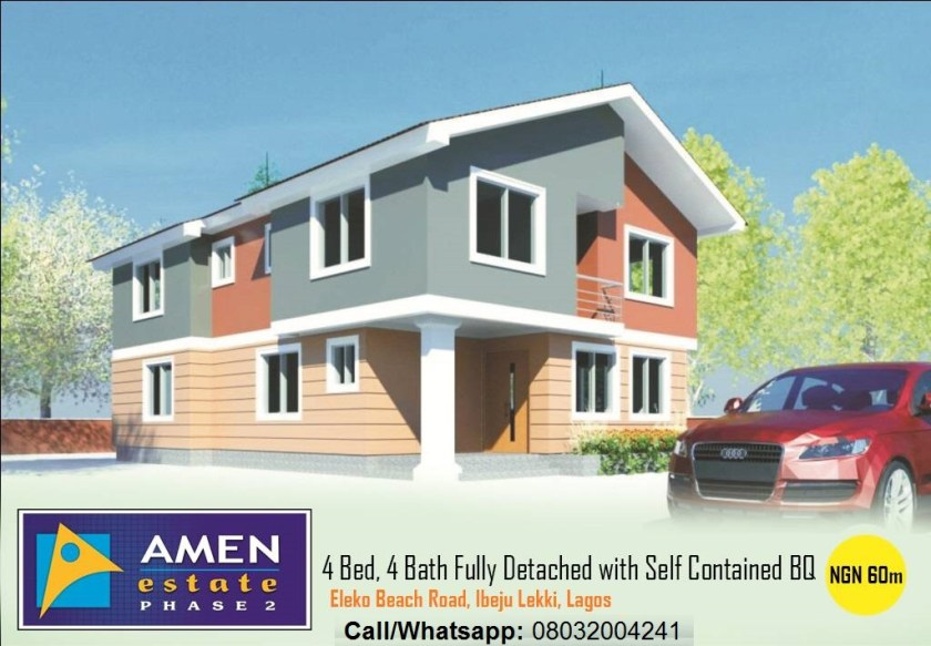 Houses And Apartments For Sale In Amen Estate Phase 2 Lagos