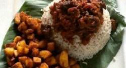 ofada rice and sauce