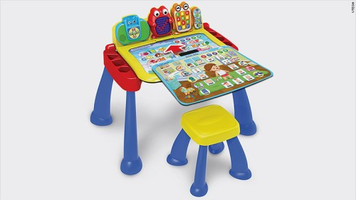 Smart desk for toddlers