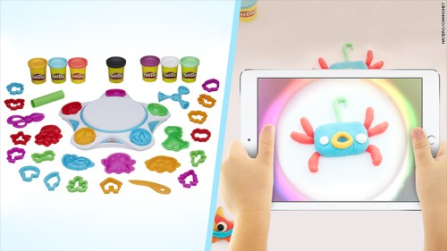 "You can ""virtually"" bring Play-Doh creations to life"