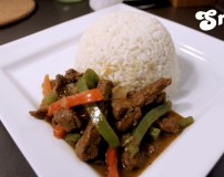 Recipe- How To Make Shredded Beef Sauce with Rice