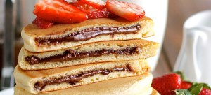 Recipe- How To Make Nutella Stuffed Fluffy Pancakes