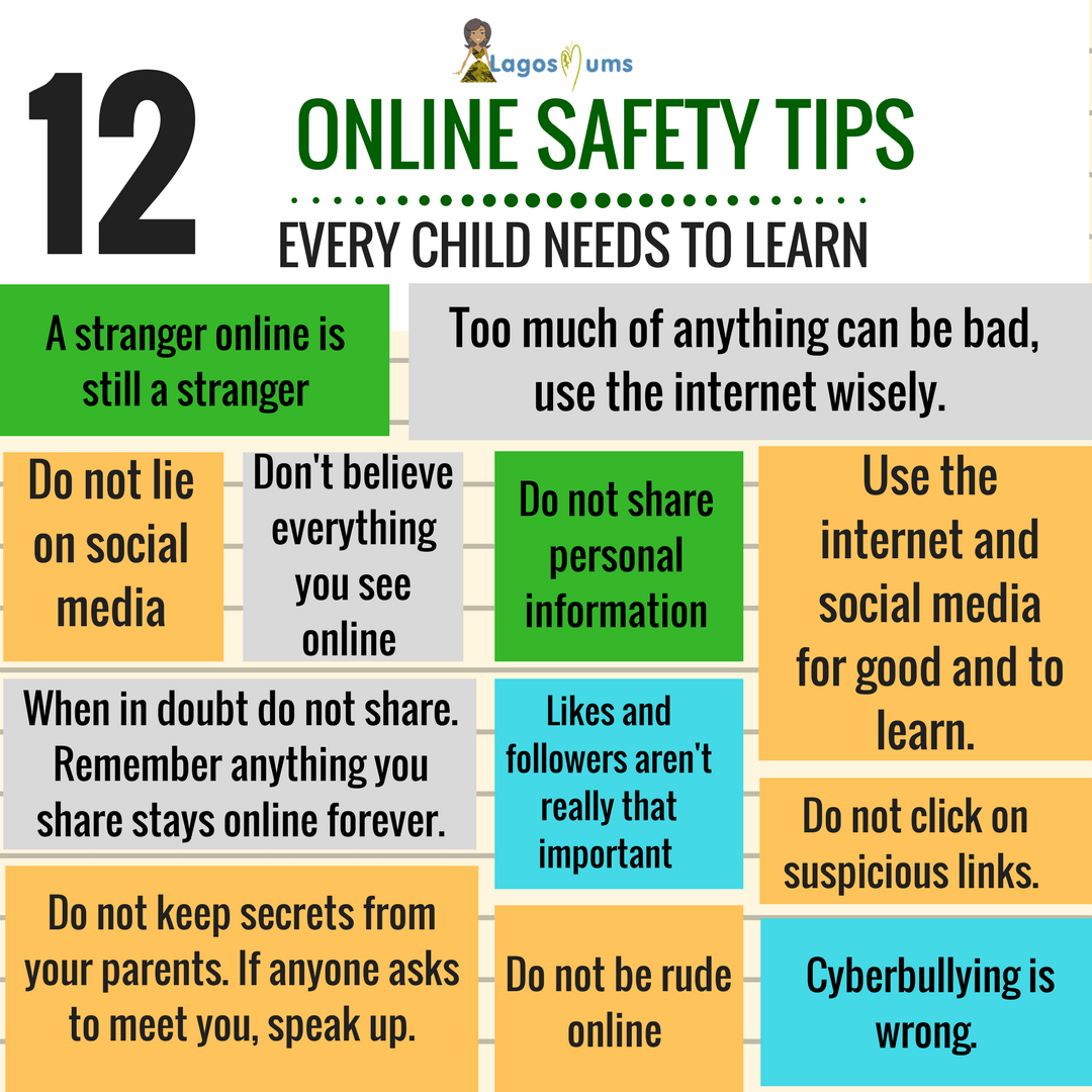 12 Online Safety Tips Every Child Needs To Know