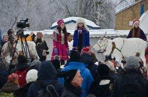 ...but now the older children make their own Sámi clothes