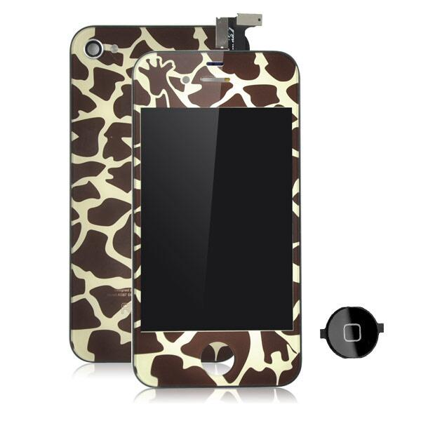 coque iphone girafe