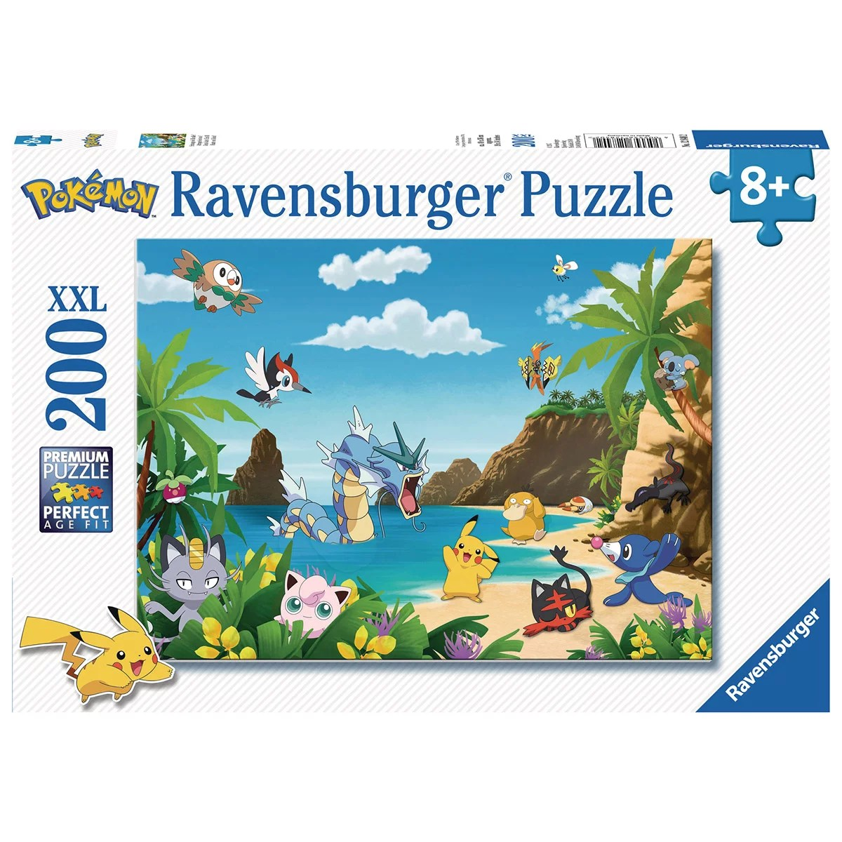 puzzle 200 pieces xxl attrapez les tous pokemon