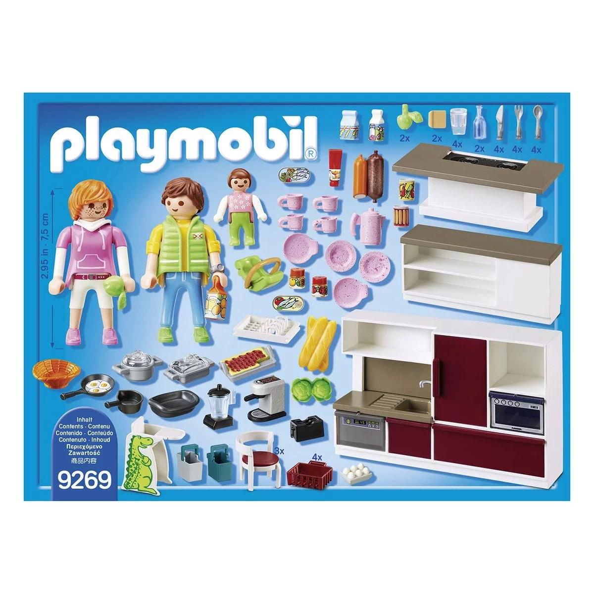 cuisine amenagee playmobil city life