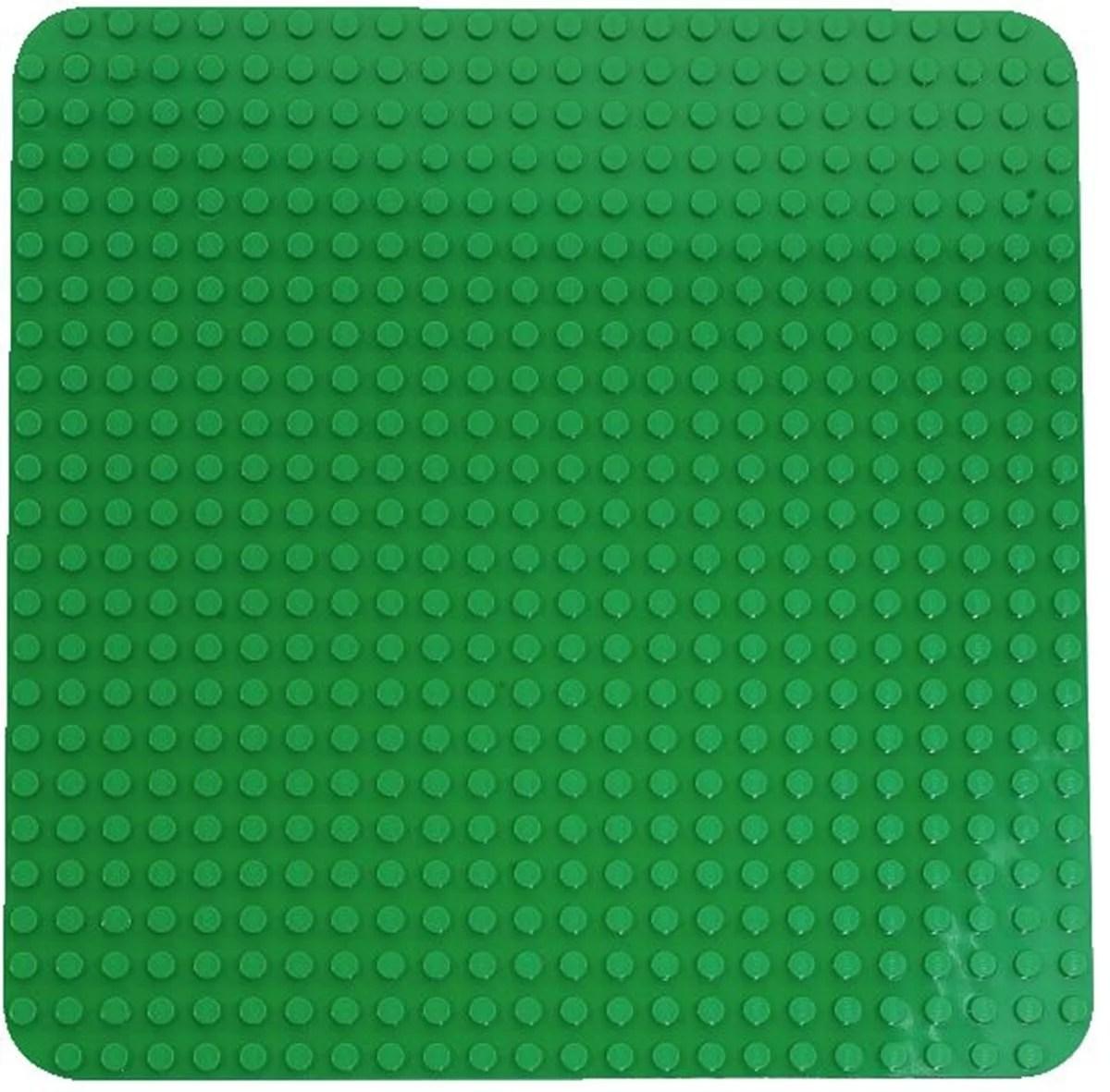grande plaque verte lego duplo 2304