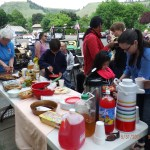 food at wheels